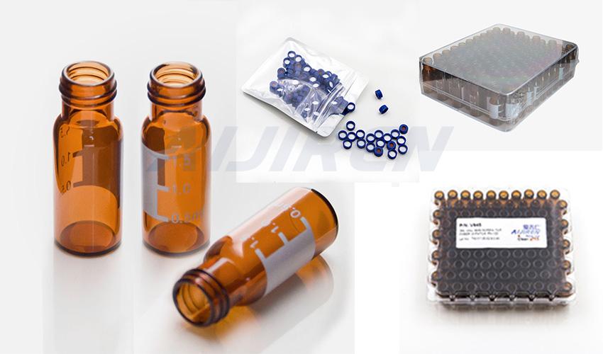 9mm Short Thread Vial package